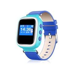 2016เด็กใหม่gps q60 smart watchนาฬิกาข้อมือsosโทรค้นหาสถานที่L Ocatorอุปกรณ์ติดตามสำหรับเด็กปลอดภัยต่อต้านหายไปตรวจสอบ