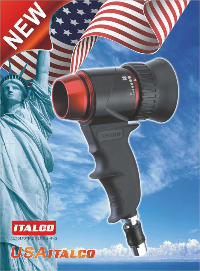 air drying gun application of water-borne paints ITALCO Drying-C