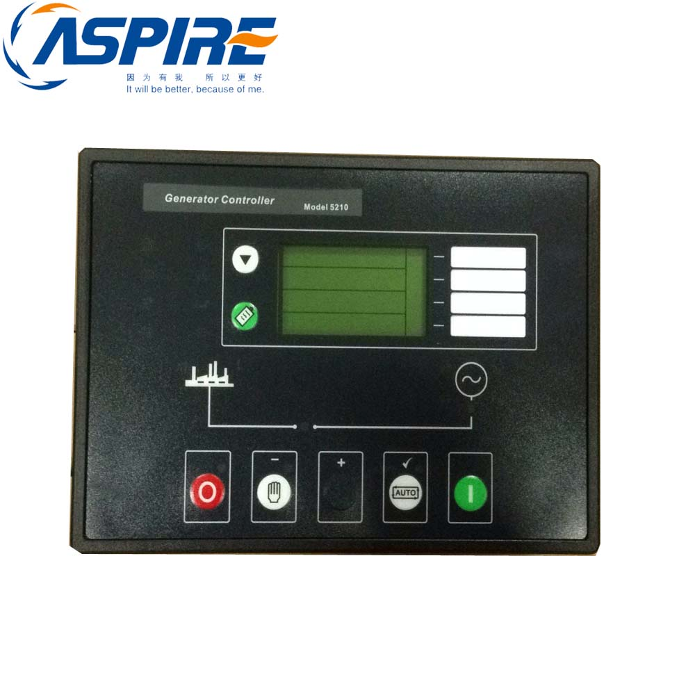 Generator Controller 5210 For Diesel Genset Compatible With Original ModuleGenerator Controller 5210 For Diesel Genset Compatible With Original Module