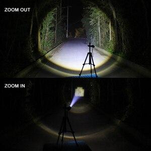 Image 5 - Портативный светодиодный мини фонарик Q5 + COB, черный водонепроницаемый масштабируемый светодиодный фонарь, фонарик с аккумулятором AA 14500