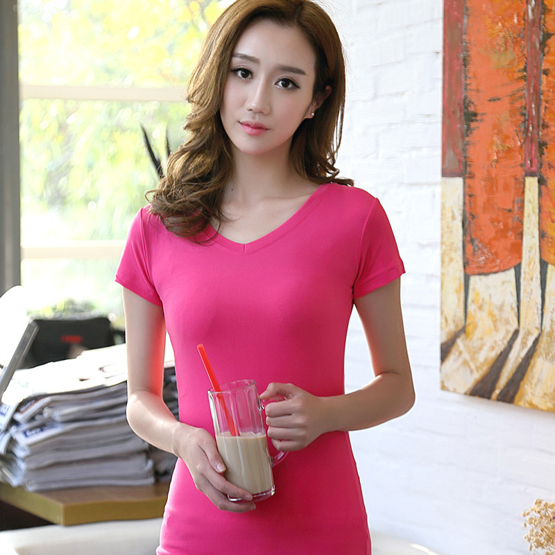 2018 New Summer Women T Shirt casual Short sleeve O-Neck women Cotton Women Clothing