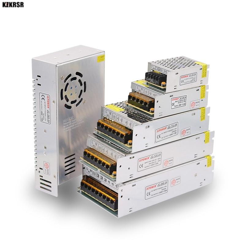 Power Supply Led Driver AC110V 220V To DC 12V 2A 3A 5A 10A 15A 20A 30A 40A 50A 12V Charger Power Adapter Strip Light Transformer