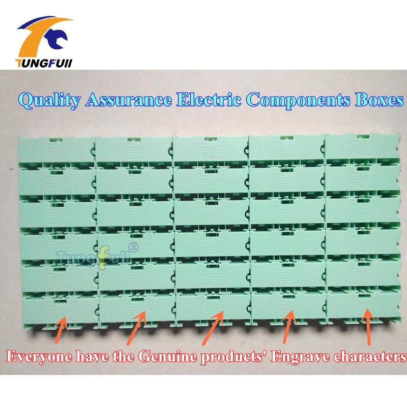 30 pezzi componenti elettronici kit kit scatole contenitori - Portautensili - Fotografia 3