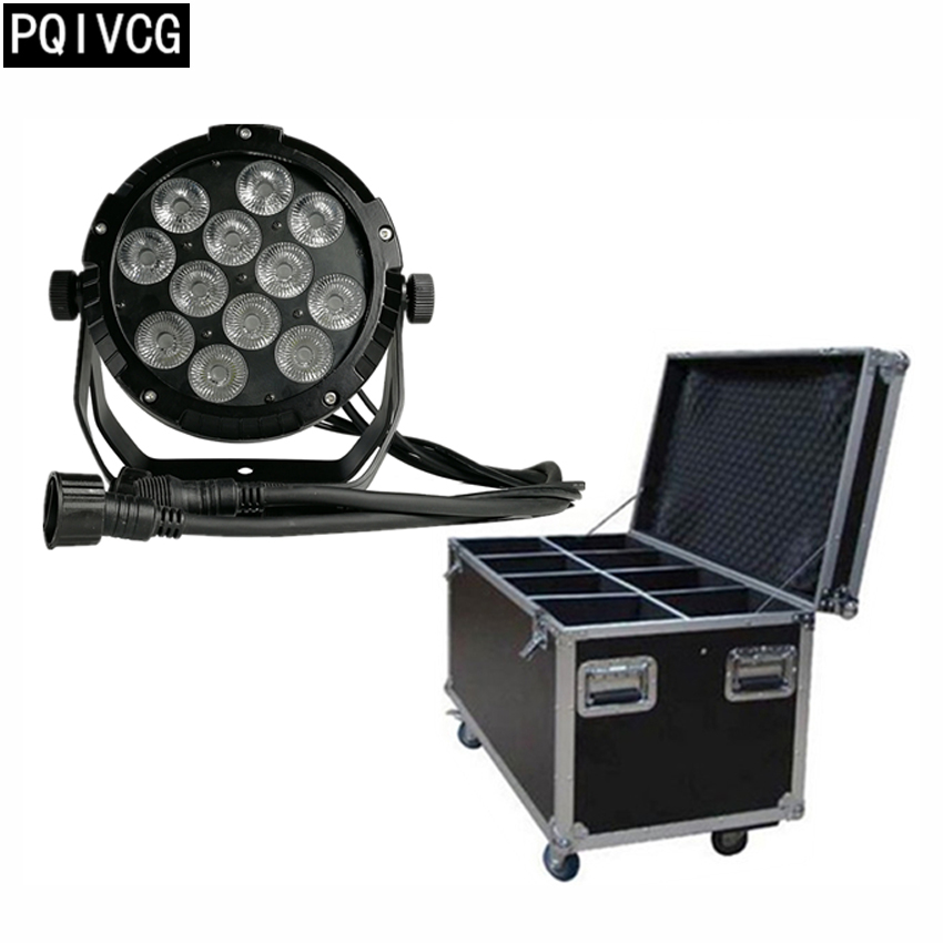 8pcs/12x12w waterproof par lights+flight case rgbw 4in1 dmx512 led par lights professional outdoor waterproof lighting 8pcs/12x12w waterproof par lights+flight case rgbw 4in1 dmx512 led par lights professional outdoor waterproof lighting