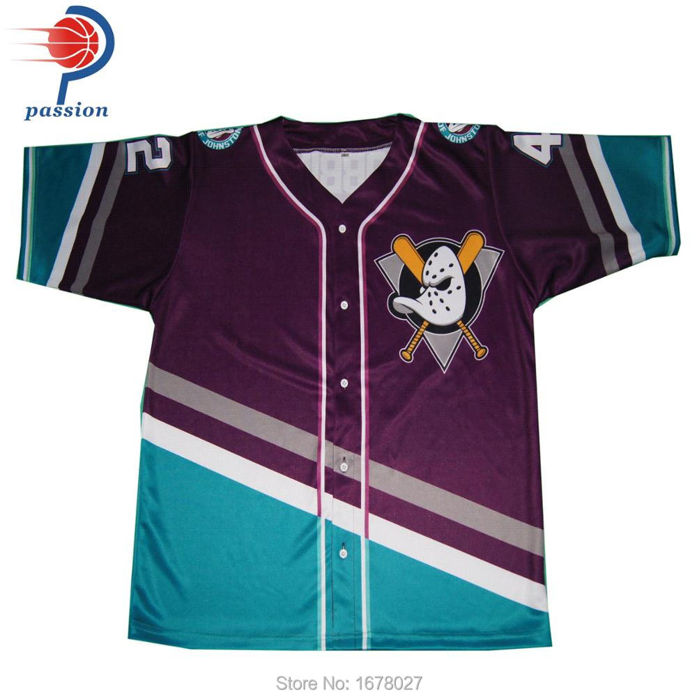 huge discount ea9c4 92392 US $125.0 |china factory custom mens blank buttons shirt baseball jersey  wholesale-in Baseball Jerseys from Sports & Entertainment on Aliexpress.com  | ...