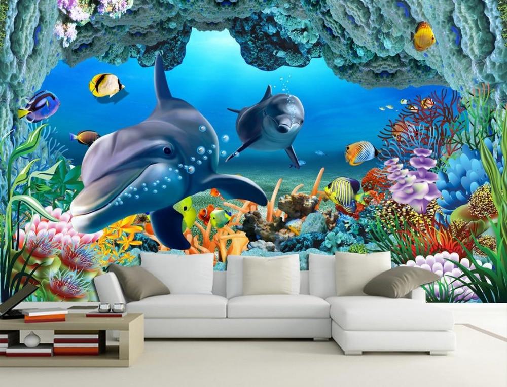 Achetez en gros sous marine peintures murales en ligne for Peintures murales