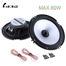 2pc Car speaker 6.5Inch 60W Auto Speaker Automobile Vehicle Car HiFi Audio Full Range Speaker High Pitch Loudspeaker for Cars high end 6 5 inch car audio speaker 60w 4ohm high pitch vehicle auto automobile loud speaker bass hifi audio speaker
