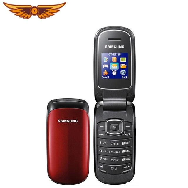 fa6e855c29ed6 E1150 Asli Samsung E1150C E1151 Unlocked GSM 1.43 Inches 800 MAh Mini-SIM  Multi Warna