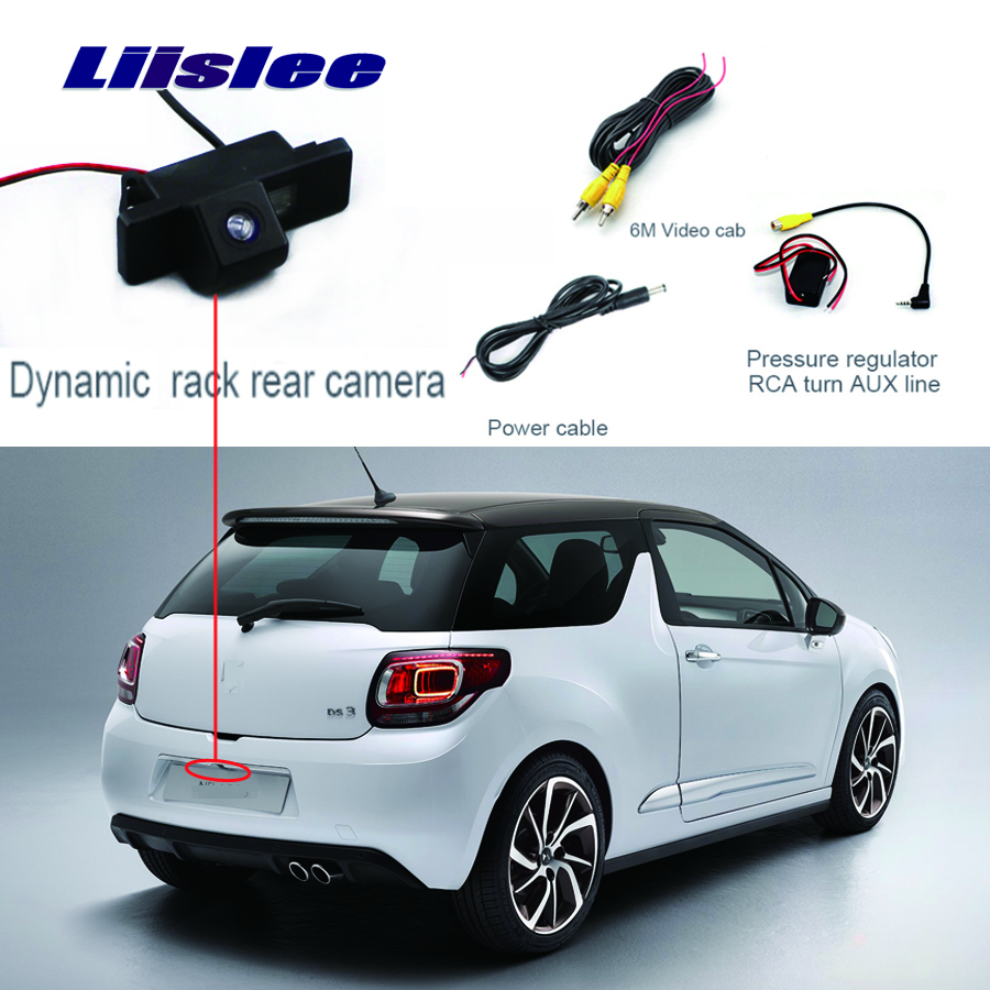 Liislee Rear View Camera For Citroen DS3 DS 3 2009~2014 HD CCD Night Vision Parking Reverse Backup Camera + Waterproof