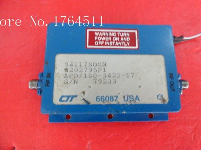 [BELLA] CTT APO/180-3422-17 12V SMA supply amplifier[BELLA] CTT APO/180-3422-17 12V SMA supply amplifier
