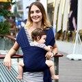 2016 Ergonômico Ajustável Portador de Bebê de Algodão Orgânico Bebê Recém-nascido Kid Carriage Envoltório Hipseat Estilingue Multifuncional Portátil