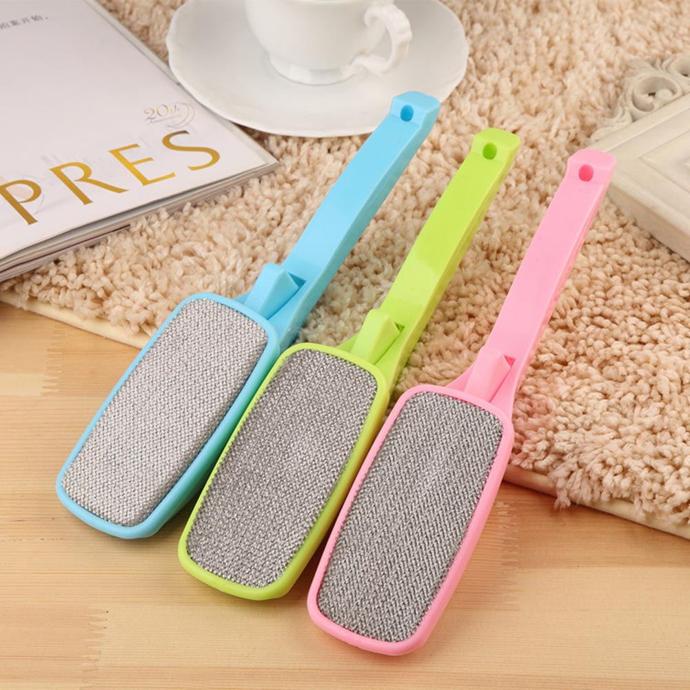 Clothing Dust Brush Cleaning Sweater Sticky Hair Remover Brush Pet Dog Cat Hair Fur Remove Brush Carpet Bed Sheet Dust Remover
