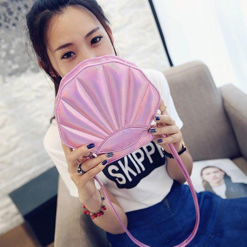 Clutch-Bag Messenger-Bag Crossbody-Bag Handbag Pearl Sweet-Shell New-Design Fashion 150pcs/Lot