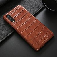 Desyner Genuine Leather Case For Huawei P20 Pro Cover Crocodile Skin Pattern Coque For Huawei P20