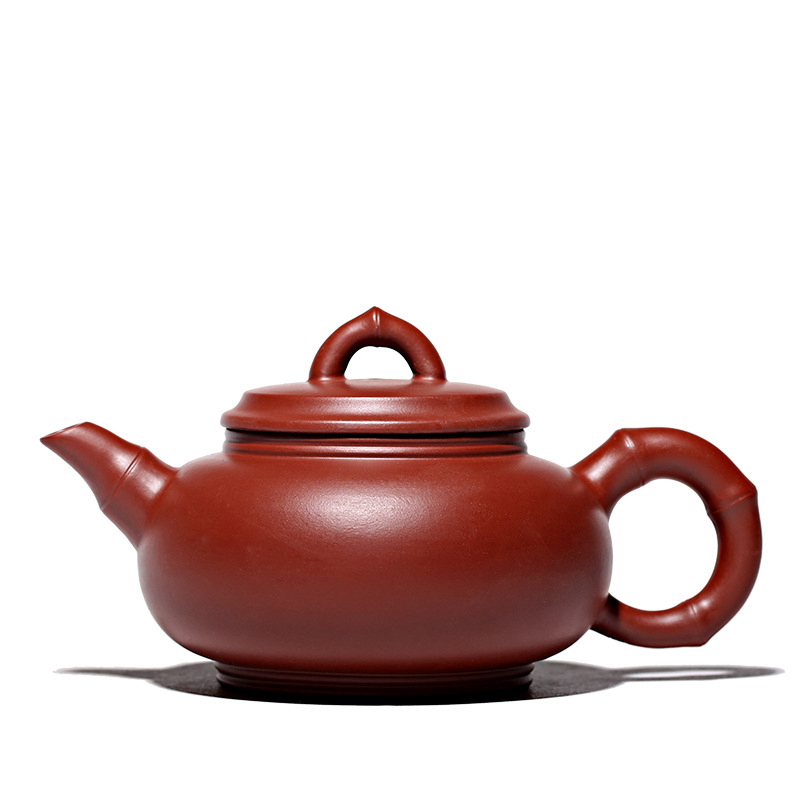 150ml country artist Handmade Purple da hongpao Clay teapot yixing zisha hu Teapot Chinese kungfu china Tea Set Drinkware image