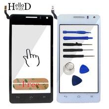 Prix usine écran tactile en verre digitizer panneau pour huawei g600 u8950 u8950d lentille capteur écran tactile avant verre adhésif outils