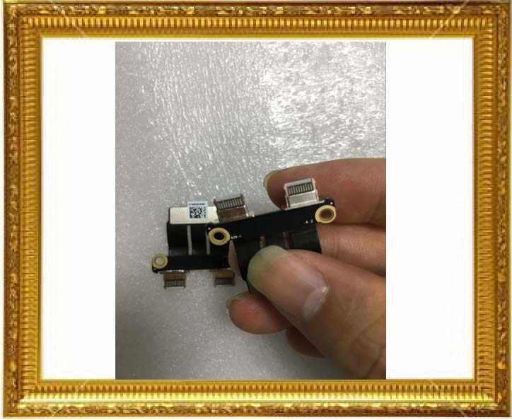 """Nouveau 821-01646-02 pour Macbook Pro Retina 13 """"15"""" A1989 A1990 type-c USB-C de charge DC-IN connecteur de carte Jack d'alimentation cc 2018 an"""