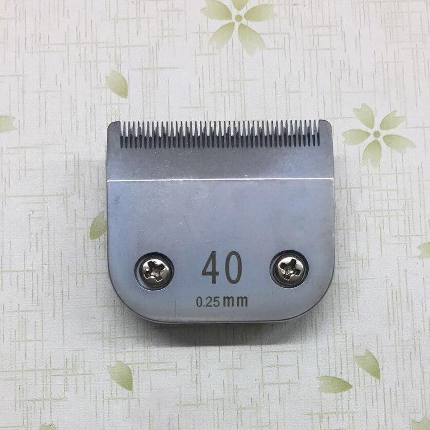 Lame de tondeuse professionnelle pour animaux de compagnie Sirreepet 40 # (0.25mm)Lame de tondeuse professionnelle pour animaux de compagnie Sirreepet 40 # (0.25mm)