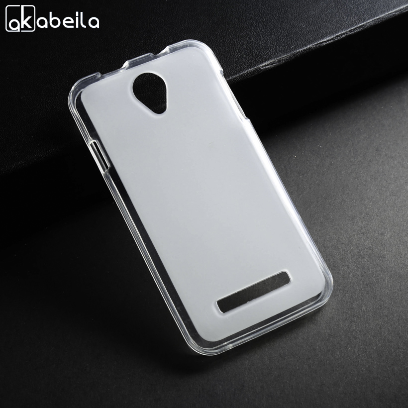 AKABEILA Silicone Soft Cases For Fly IQ4405 Fly IQ4415 TPU Case Back Cover For Fly IQ4416 Fly Era Life 5 IQ 4416 Phone Cases