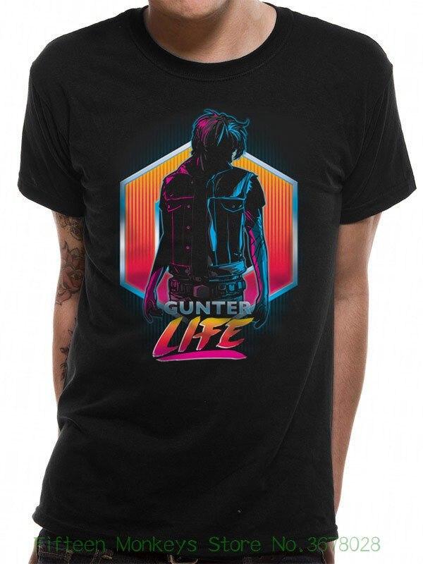 Clothing Tops Hipster Fashion Ready Player One - Gunter ( T-shirt Unisex Tg. L ) - Taglia L