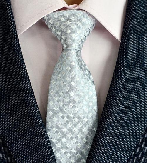 Klasična muška svilena kravata za vrata od 8 cm, vezanje paisley i - Pribor za odjeću - Foto 3