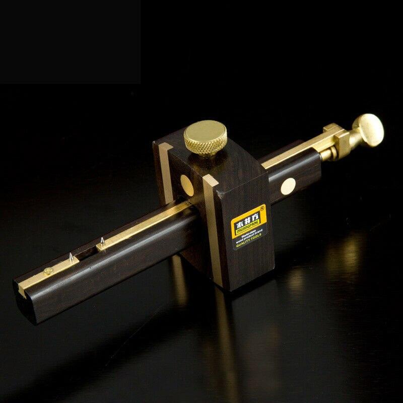 Ebenholz Deluxe Britischen Kennzeichnung Gauge Mit Messing Schraube Glasritzrades Zimmerei Werkzeug W190 Handhobel Werkzeuge