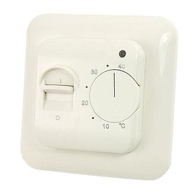 Interrupteur marche-arrêt 5-40 Celsius régulateur de température de Thermostat d'ambiance de chauffage