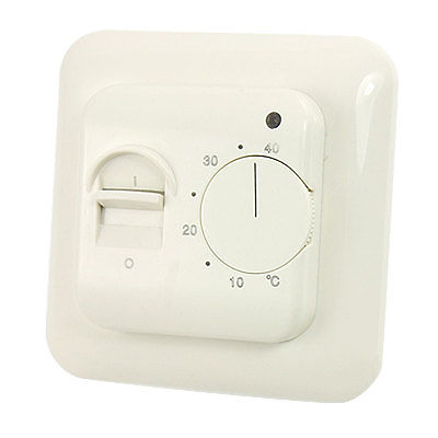 On Off Switch 5-40 Celsius Heating Room Thermostat Temperature Controller 10pcs ksd301 92 celsius temperature switch bimetal disc thermostat nc