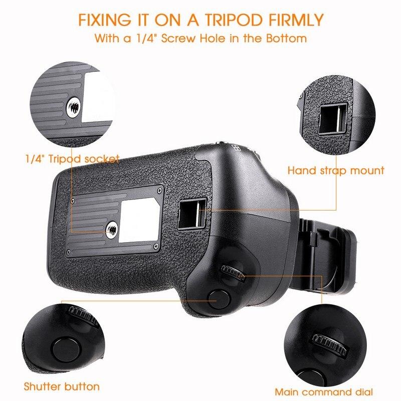 Canon 60D 60Da DSLR Kamera Dəyişdirmə BG-E9 üçün LP-E6 - Kamera və foto - Fotoqrafiya 5