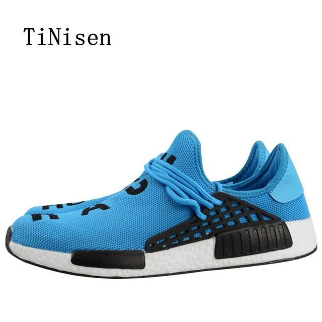 8b417df37 2018 Hot Sales Fashion Breathable Men Shoes Zapatilla Deportivas Mujer Human  Race Casual Shoes Mens Four colors are available