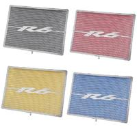 Radiator Guard Grill Grille Cover Protector Net for 20 06 2007 2008 2009 2010 11 12 13 14 2015 Yamaha YZF R6 Black/Red/Blue/Gold