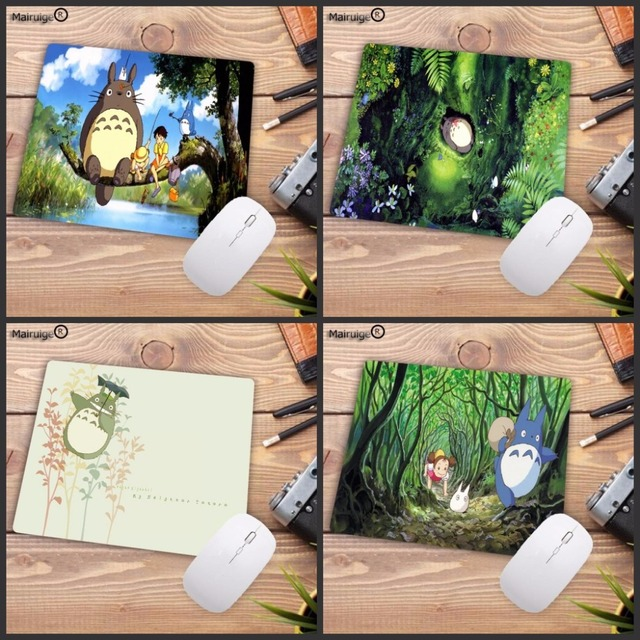 mairuige totoro anime mouse pad to mouse notbook computer christmas gifts mousepad gaming padmouse gamer to