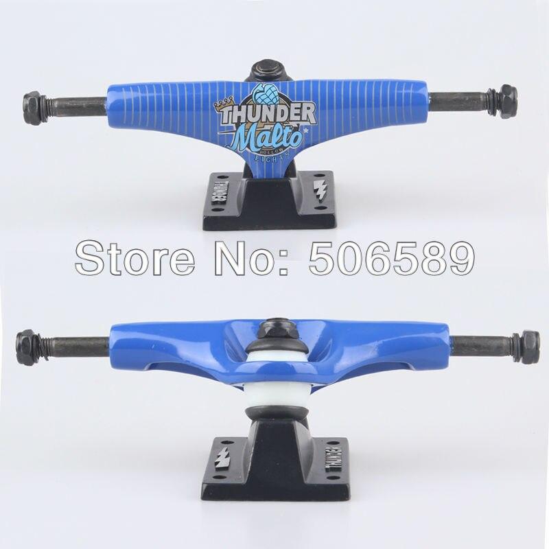 Livraison gratuite planche à roulettes camion tonnerre 5.0 polegada bleu couleur