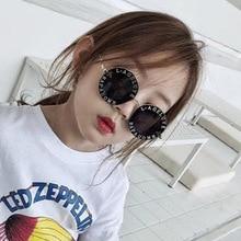 Steampunk Gold Bee Kids Sunglasses Boys Girls Luxury Vintage