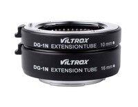 Viltrox DG-1N Auto Focus Camera Macro Extension Tube 10mm+16mm Adapter Set for Nikon 1 mount Lens J1 J2 J3 V1