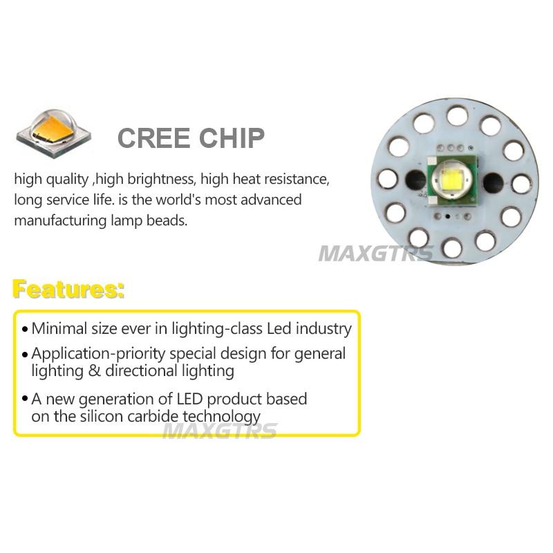 2Pcs T10 W5W 15W 1350lm υψηλής ισχύος Cree Chip XP-E - Φώτα αυτοκινήτων - Φωτογραφία 5