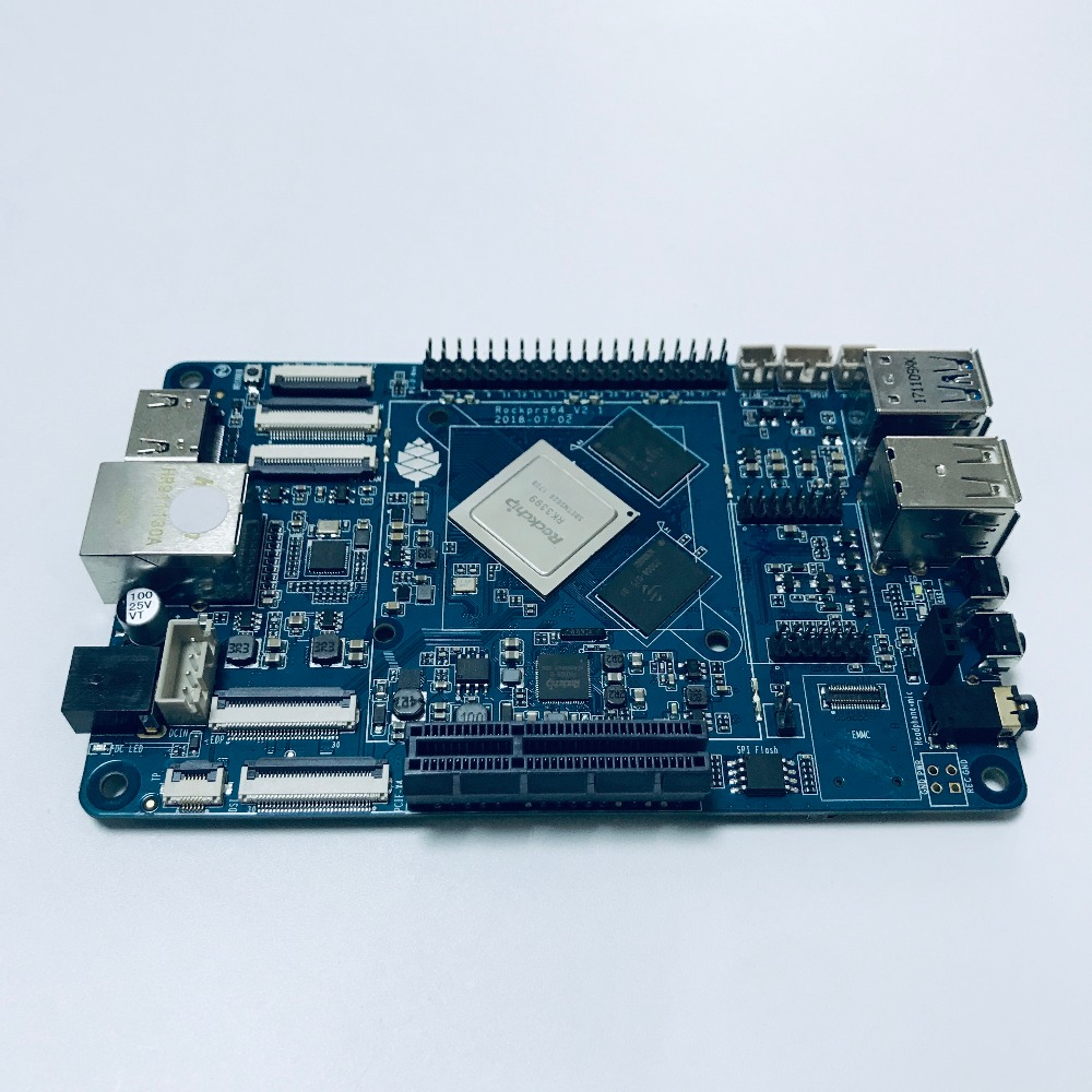 Single Board Computer ROCKPro64 Android Linux Media development Board ROCKPro64 4G