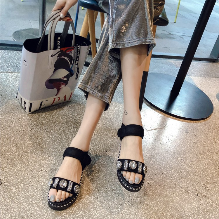 Big Size 11 12 13  High heels sandals women shoes woman summer ladies   Muffin Thick-soled Shoes Portable Sports BeachBig Size 11 12 13  High heels sandals women shoes woman summer ladies   Muffin Thick-soled Shoes Portable Sports Beach