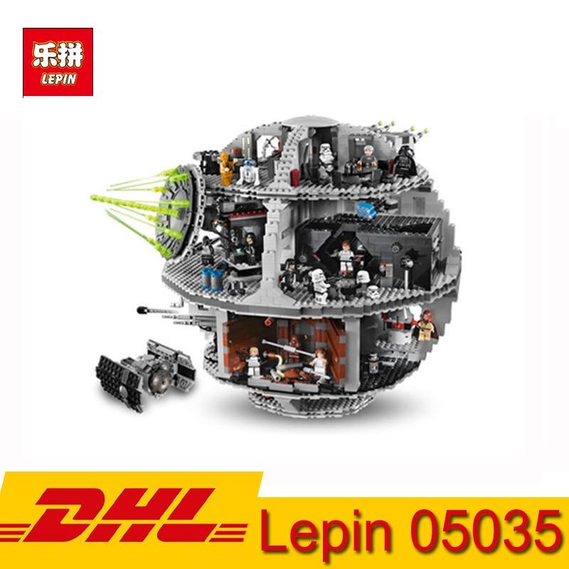 3804 pièces Blocs De Construction Kits Série Star Wars Death Star Bloc De Construction Lepin 05035 Jouets Compatibles LegoINGs 10188 Briques