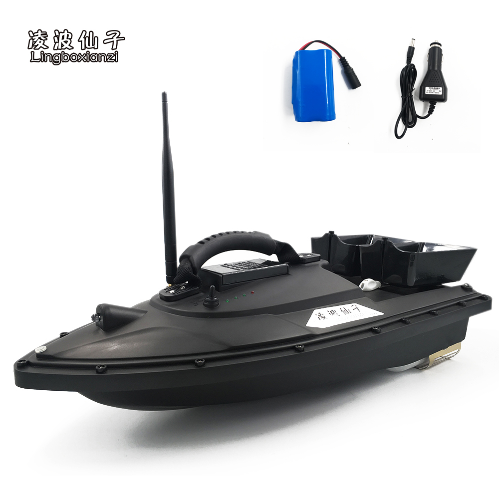 New Arrival Lingboxianzi T188 Rc Bait Boat 4 Colors Toy Fish Finder Rc Fishing Boat Rc Lure Boat For Fishing Wireless Rc Boat