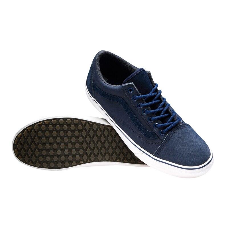 Sport Skate Couleur Chaussures Bleu D'origine Vans Hommes De wx0zUzOXq