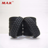 NEW Truck Tires 4 PCS Set 1 14 Tractor Truck Trailer Climbing Car Rubber Tires Tyres