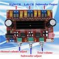 DC12V-24V 2*50 W + 100 W XH-M139 2.1 Canais Subwoofer Amplificador digital Board Chip TPA3116D2