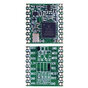 Image 2 - 10PCS/LOT RFM95 RFM95W 868Mhz 915Mhz RFM95 868MHz RFM95 915MHz LoRaTM Wireless Transceiver     SX1276
