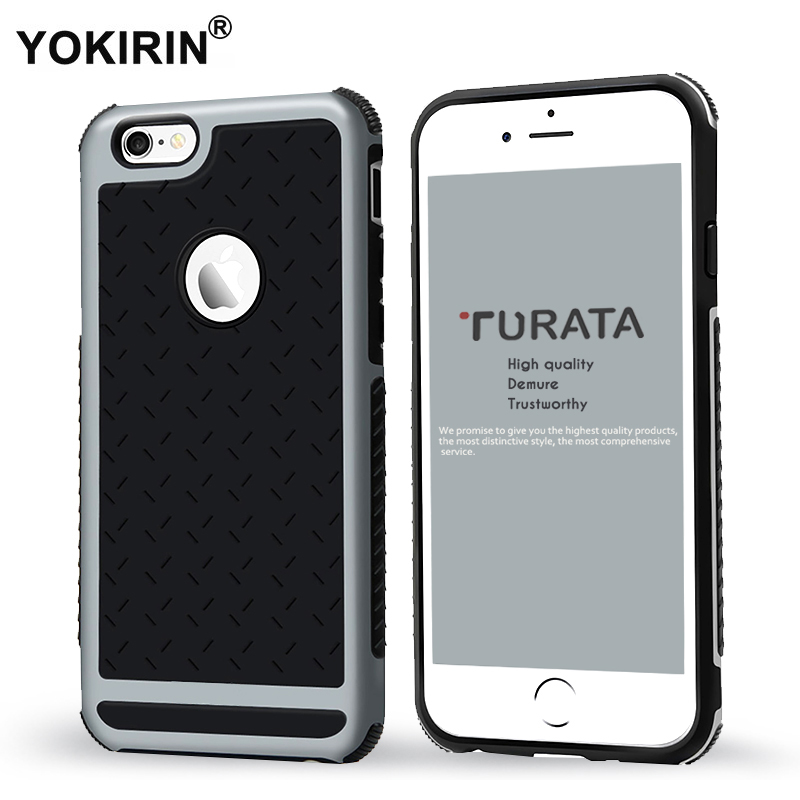 cdd5d57b48 YOKIRIN Case for iPhone 6 / 6s , Premium Durable Shockproof Anti-Shock Armor  Hybrid TPU+PC Full Protective Cover for iPhone6