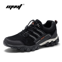 High Quality Hiking Men Casual Shoes Lightweight Walking Comfortable Outdoor Fashion Sneakers