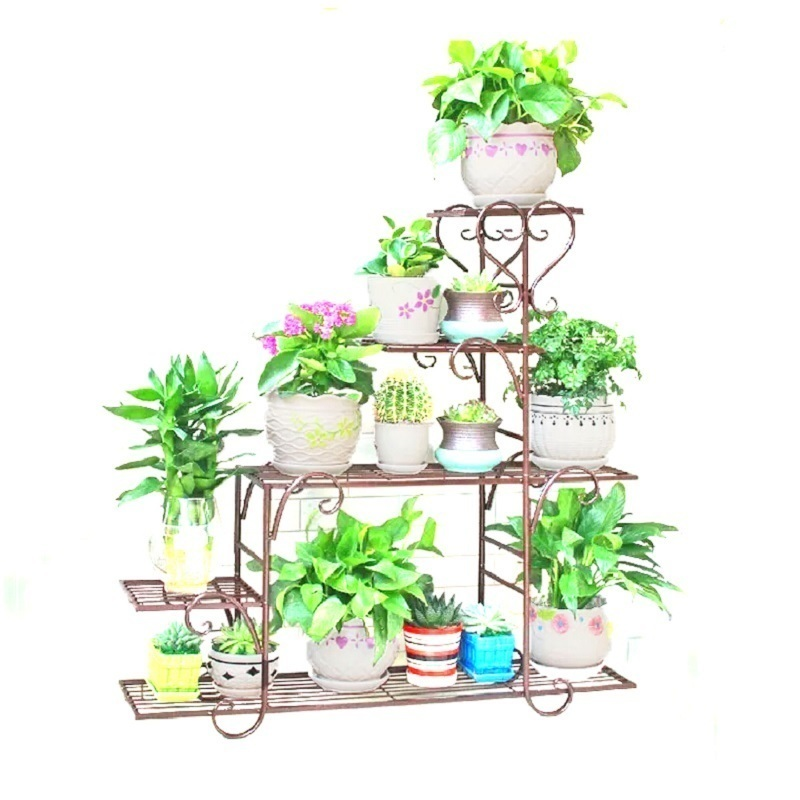 все цены на Exterieur Afscherming Shelf Support Plante Planten Rek Decorer Metal Raflar Balkon Plant Stand Balcony Balcon Flower Iron Rack