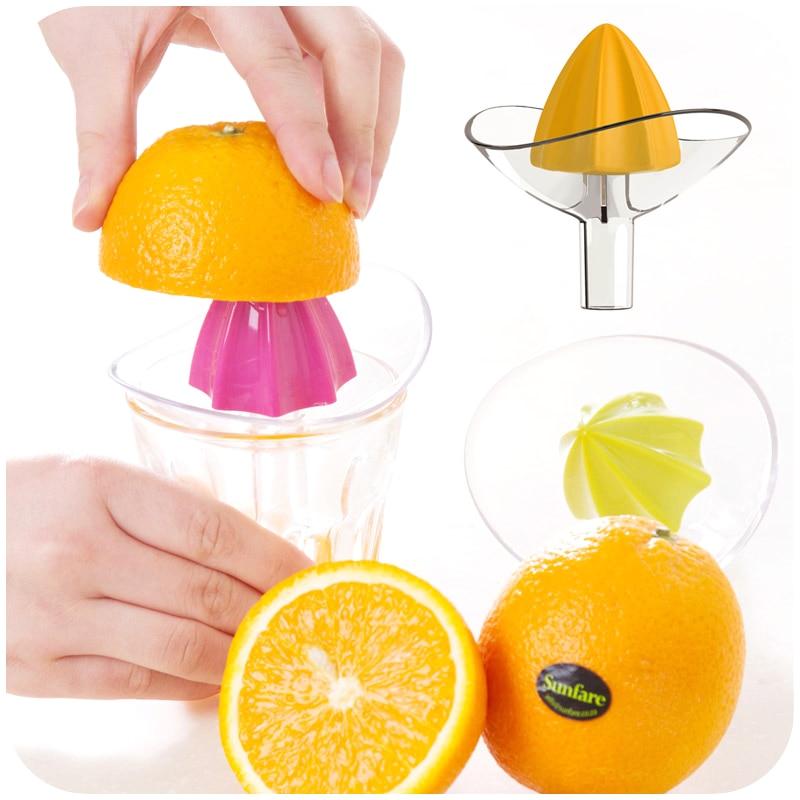 2017 Hand Manual Orange Juicer Kitchen Gadgets Mini Juice Lemon Squeezer Vegetable Fruit Machine Kitchen