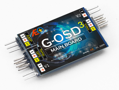 Free Shipping G-OSD3 MAIN BOARD / OSD/FPV