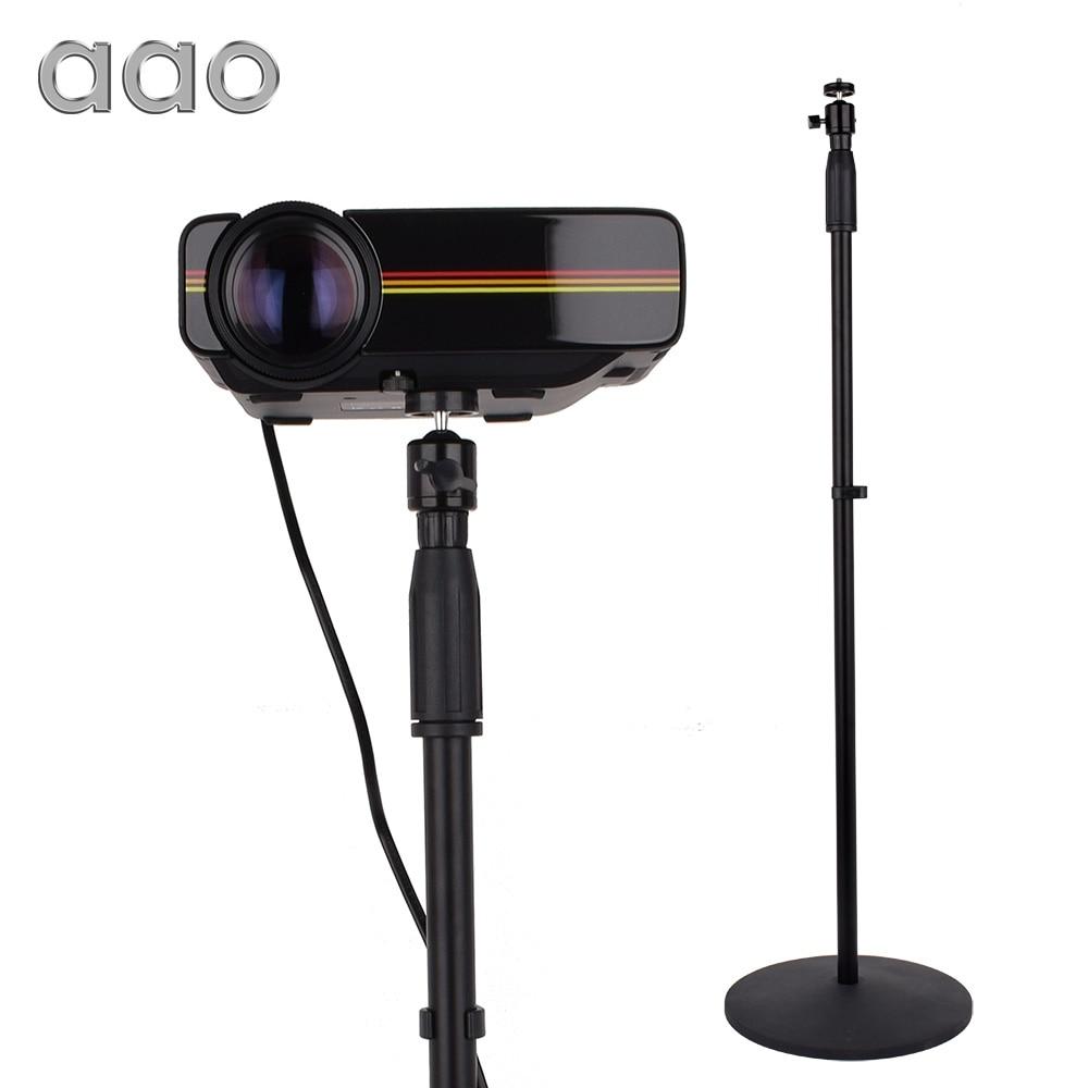 AAO 77-165 cm Projecteur Floor Stand Pan Tilt Stand Réglable Hauteur Support pour XGIMI H1 H2 Projecteur YG400 c80 DLP Projecteur